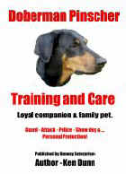 Cover for 'Doberman Pinscher Training and Care'